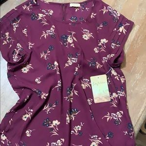 Brand new floral top